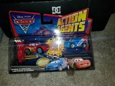 Cars 2 Action Agents Raoul Carule And Lighting Mcqueen