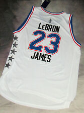 100% Authentic Adidas NBA All Star Game Lebron James Jersey 2015 SZ XL+ 2 New