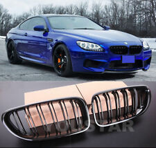 EXPRESS TWIN SLAT M Performance GLOSS BLACK Grills BMW 6 Series F06 F12 F13 M6