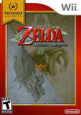 The Legend of Zelda: Twilight Princess (Nintendo Selects) WII New Nintendo Wii