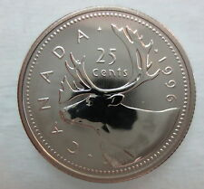 1996 CANADA 25 CENTS PROOF-LIKE COIN