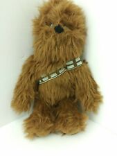 "Disney Star Wars Chewbacca Plush Figurine Doll 14"" 2016"