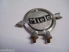 Oldtimer Fahrrad Emblem Steuerkopfschild original MIELE Schutzblech-schild  #35