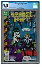 Azrael: Agent of the Bat #53 (1999) Joker Cover CGC 9.8 White Pages FF77