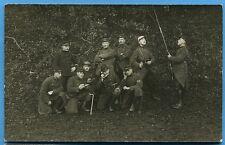 CPA PHOTO: Télégraphistes de divers régiments / Guerre 14-18