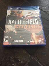 Battlefield Hardline (Sony PlayStation 4, 2015) Brand New!