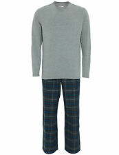 Marks and Spencer Cotton Patternless Nightwear for Men