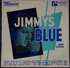 JIMMY CLANTON - JIMMY'S BLUE TOP RANK TEENAGE 2808 EXTRA RARE OZ PRESSING VINYL