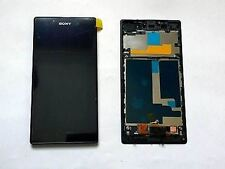 PANTALLA TÁCTIL DISPLAY LCD CON FRAME PARA SONY XPERIA Z1 L39H NEGRO BLACK