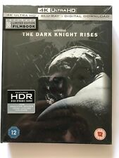 The Dark Knight Rises 4K Ultra HD - Limited Edition Blu-Ray Film Book