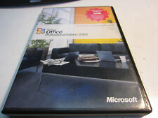 Microsoft Office Professional Edition 2003 in great shape with Product key code