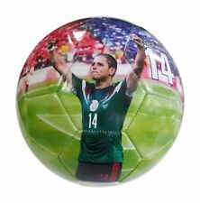 iSport Gifts Mexico Chicharito #14 Kids Soccer Ball ✓ Size 5 for Kids & Adult.
