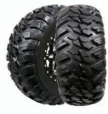 2 New GBC 25x8x12 25x8R12 10-Ply Kanati Mongrel DOT Legal Radial UTV SXS Tires