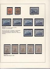 1923 INFLA Zeit Nr. 258 - 262 Postfrisch ** MNH tlw. verschiedene Ausführungen