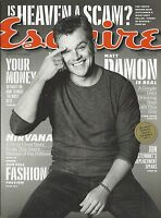 Esquire Magazine Matt Damon Money Heaven Fashion James Marsden Diane Kruger 2013