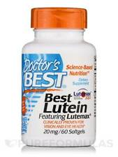 Best Lutein featuring Lutemax (Lutein & Zeaxanthin) 20 mg - 60 Softgels by Doct