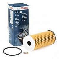 Bosch P7123 Oil Filter - BMW 320d 325d 330d 335d 418d 420d 425d 430d 435d