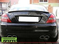 Painted OEM 040 Black SLK55 AMG Look Trunk Spoiler Lip Fit R171 SLK250 SLK350