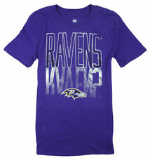 Sports Mem, Cards & Fan Shop NFL Baltimore Ravens Vertical Logo Purple T-Shirt New With Tags Youth Sizes