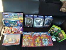 MOTU Figures Lot, Masters of the Universe, sealed, He-Man, Moss Man, Skelton ?