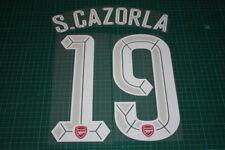 Arsenal 15/16 #19 S. CAZORLA UEFA Champions League HomeKit Nameset Printing