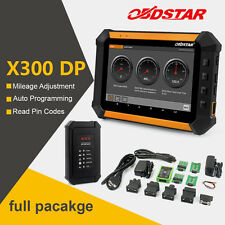 FULL Key Programmer Diagnostic Mileage Odometer Correction Tools OBDSTAR X300 DP