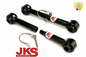 """JKS Front Sway Bar Links Disconnects 2.5-6"""" lift for 1981-86 Jeep Scrambler CJ8"""
