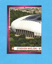 PANINI-EURO 2012-Figurina n.10- STADION MIEJSKI W POZNANIU SX -NEW-DARK BOARD