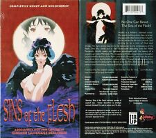 Sins of the Flesh Anime VHS Video Tape New English Dubbed 18+