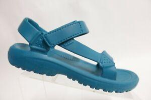 TEVA Terra Fi Blue Rubber Sz 9 Men Hiking Sport Sandals