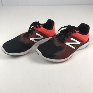 New Balance Mens 818 V2 MX818GO2 Black Red Running Shoes Lace Up Size 13 4E