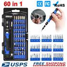 60+in+1+Magnetic+Precision+Screwdriver+Set+Computer+Pc+Phone+Repair+Tool+Kit+US