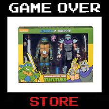 NECA Teenage Mutant Ninja Turtles Leonardo vs. Shredder 2-Pack Action Figure (NECA54077)