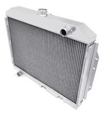 "1970-1974 American Motors Hornet Aluminum 3 Row Champion Radiator /& 2-12/"" Fans"