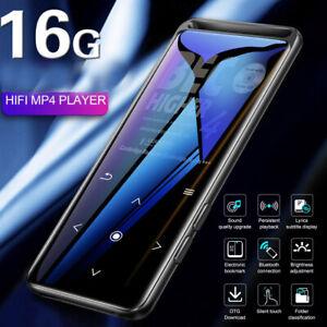 BENJI Music Player 16GB MP3/MP4 Bluetooth Lossless Sound Portable FM Radio NEW