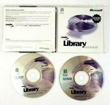 Microsoft MSDN Library Visual Studio  6.0 Two CD Set for Windows