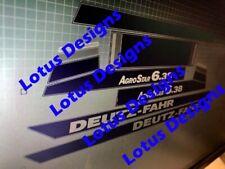 deutz fahr Agro Star6.38 stickers / decals