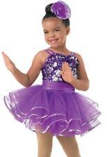 Dance Costume Small Child Purple Sequin Jazz Tap Weissmans Pageant Solo