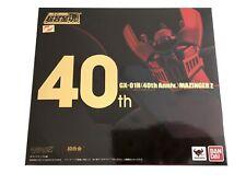 BANDAI SOUL OF CHOGIOKIN GX-01R 40th anniversary MAZINGER Z NUOVO E SIGILLATO