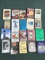 HUGE LOT OF TWENTY (20) COMMUNITY, SPIRALS, RETAIL, CHURCH, COOKBOOKS
