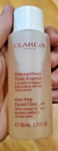 Clarins One Step Facial Cleanser with Orange Extract 1.7oz (2 PACK!!)