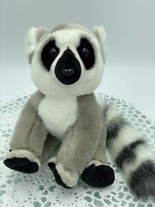 Lemur Plush, Madagascar, Toy, Zoos, Victoria, 23cm Tall, 9', New