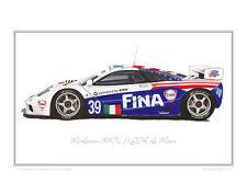 McLaren BMW F1 GTR Le Mans - Limited Edition Classic Racing Car Print Steve Dunn