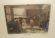 "JAMES R. SCOTT ""CANNON BALL""  HAND COLORED ENGRAVING"