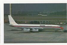 Pluna Uruguay Boeing 707-321B Aviation Postcard, A644