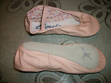 Capezio Ballet Dance Slipper Daisy Leather 205 Adult Pink New In Box