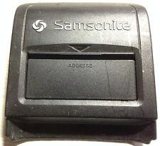 SAMSONITE EPSILON suitcase ADDRESS cover UNIT spare REPLACEMENT used PART 2298