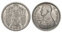 MONACO Louis II 20 Francs 1947