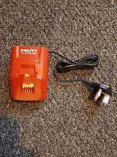 Hilti battery charger C4/12-50 New. 240v UK plug. For B12 2.6Ah Li-ion battery.