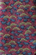 HERMES SILK TIE 7500 TA PINK BEIGE & BLUE JAPANEESE MAPLE A STUNNER IN EX-COND